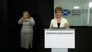 Sturgeon presser