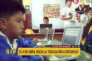 Estado de emergencia: ¿qué debemos saber del sistema de educación a distancia?