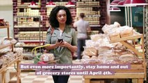 This viral movement reminds everyone not to grocery shop until after April 3rd—here's why
