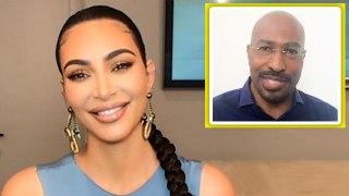 Kim Kardashian West Talks Prison Reform Advocacy and Sparking Empathy With Van Jones