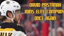 David Pastrnak Ranked As Having Second-Best Nickname By NHLPA Poll
