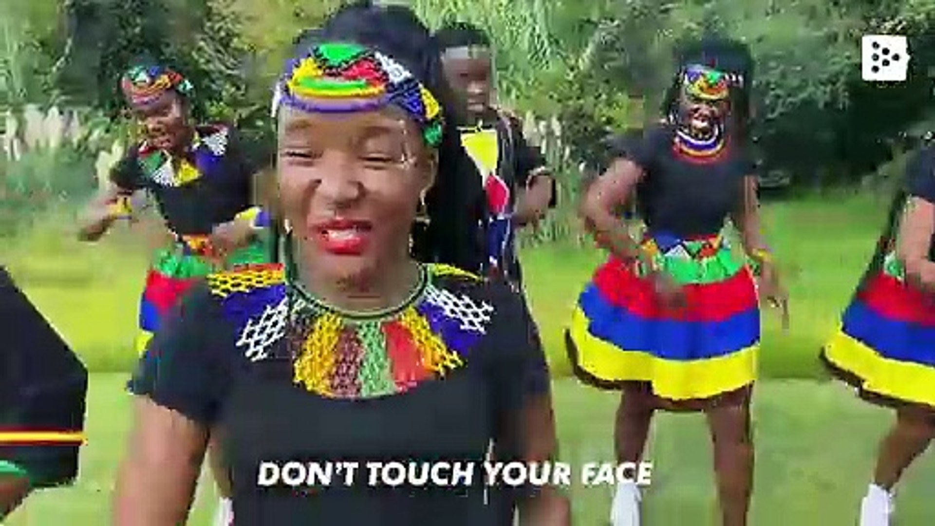 'Wash your hands' the African song to encourage people to maintain hygiene