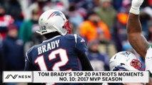 Tom Brady's Top 20 Patriots Moments | No. 10: Brady Becomes Oldest MVP