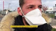 Coronavirus : un hall de Rungis réquisitionné, transformé en morgue