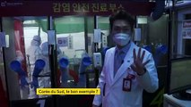 """Corée du Sud : des dispensaires """"ultra-sécurisés"""" pour dépister le coronavirus"""