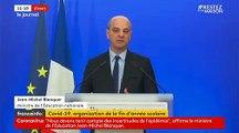 Coronavirus - Découvrez les annonces faites ce matin par le ministre de l'Education Jean-Michel Blanquer concernant le Bac et le Brevet - VIDEO