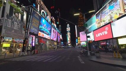 Scènes apocalyptiques de « la ville qui ne dort jamais »