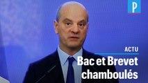 Jean-Michel Blanquer donne les détails sur l'obtention du bac et du brevet 2020