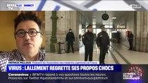 """Propos de Didier Lallement: """"Le préfet ne doit pas dire cela (...) c'est totalement faux"""" estime Patrick Pelloux"""