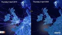 Video Shows What Air Traffic Looks Like Amid Coronavirus Outbreak