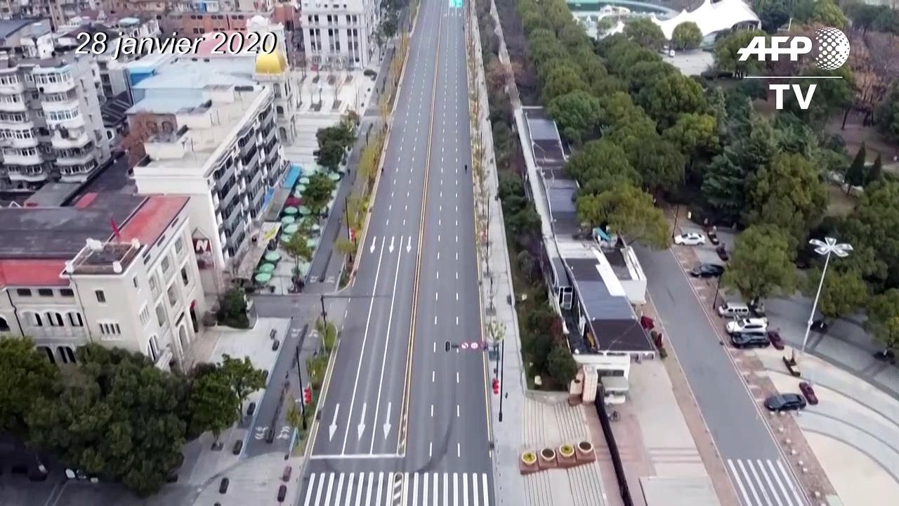 Coronavirus: la ville de Wuhan pendant et après le confinement
