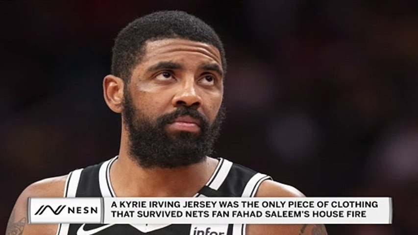 A Kyrie Irving Jersey Was the Only Thing That Survived Nets Fan's House Fire