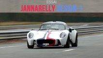 Essai Jannarelly Design-1 (2020)