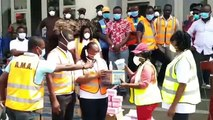 Coronavirus update- Government Organises Clean up Exercise in major places in Accra