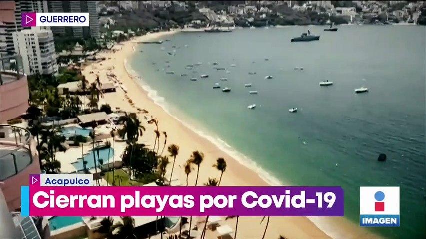 Cierran playas por Covid-19