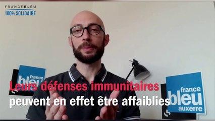 """France Bleu Auxerre répond à vos questions, """"Les personnes soignées pour maladies graves"""""""