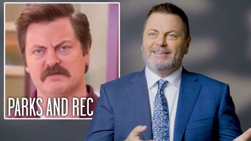 Nick Offerman Breaks Down His Most Iconic Characters