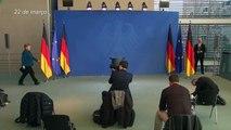 Merkel volta ao trabalho; Boris Johnson segue isolado