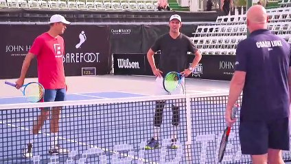 Bryan Brothers Play Doubles Q-and-A With the Jensen Brothers