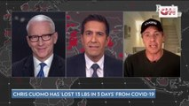 Chris Cuomo Says He's Lost 13 Pounds in 3 Days from Coronavirus
