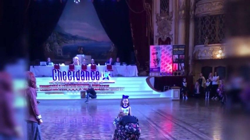 Six-year-old schoolgirl defies the odds on the dancefloor