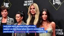 Kourtney Kardashian Is Taking a 'Big Step Back' From 'KUWTK'