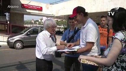 Ecclestone vai ser pai aos 89 anos