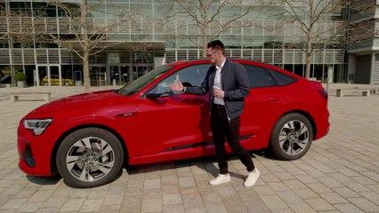 Der neue Audi e-tron Sportback Design-Highlights