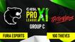 CSGO - FURIA Esports vs. 100 Thieves [Mirage] Map 1 - ESL Pro League Season 11 - Group C