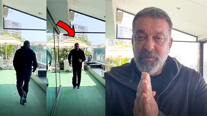 Sanjay Dutt Motivates People To Exercise At Home