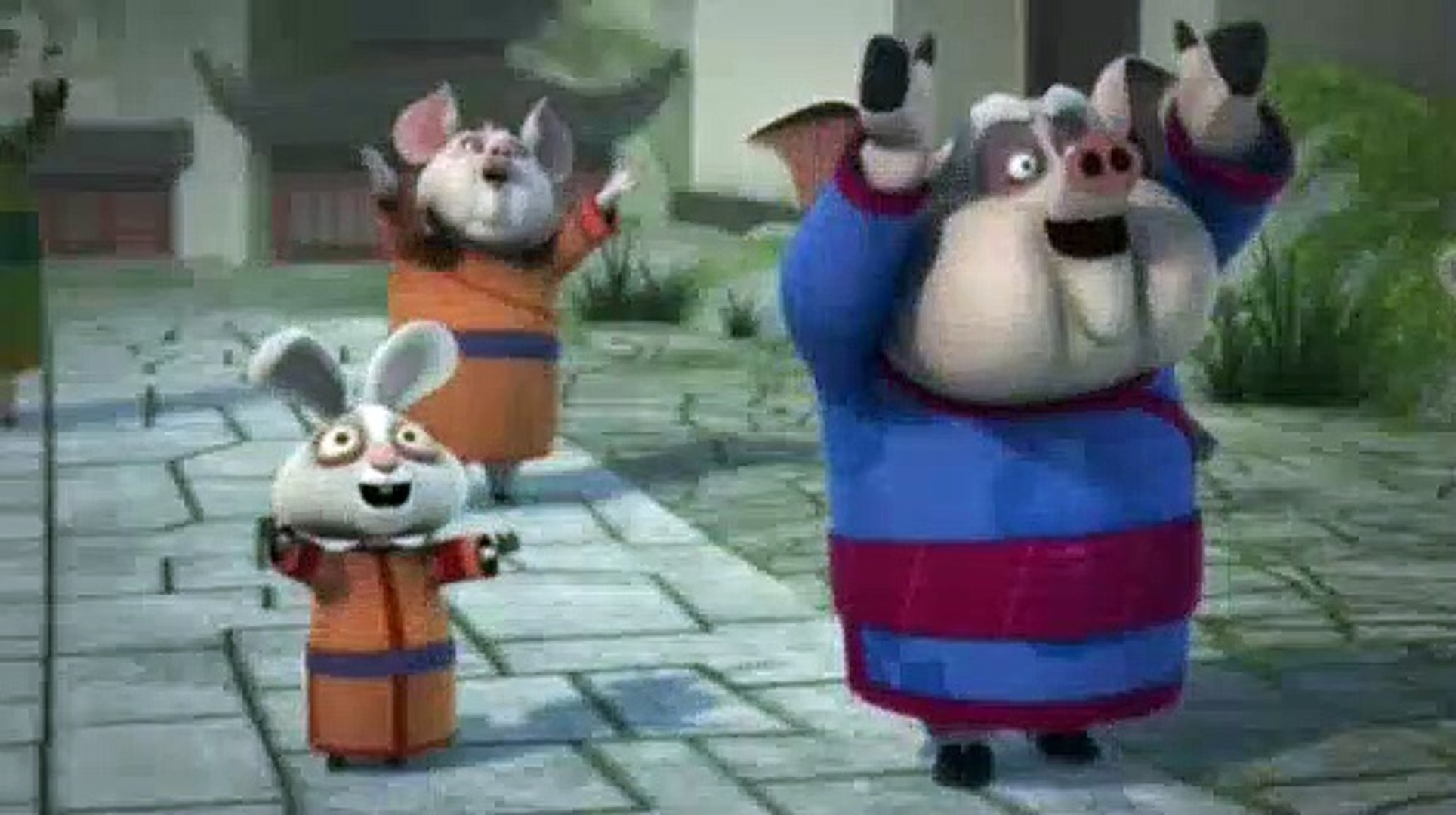 Kung Fu Panda Legends Of Awesomeness S02e07 Enter The Dragon Video Dailymotion