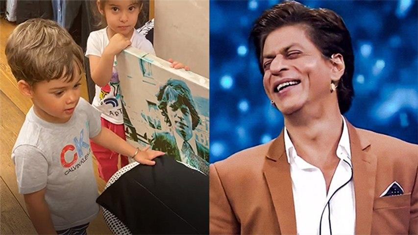 Karan Johar's Kids Searching For Shahrukh Khan In Closet Is Too Cute