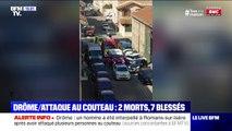La maire de Romans-sur-Isère affirme que l'auteur de l'attaque de couteau est entré dans plusieurs commerces
