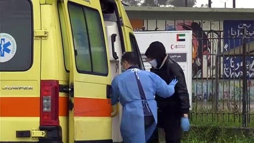 Με πυρετό στο νοσοκομείο πρόσφυγας της δομής Ριτσώνας