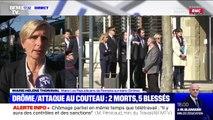 """Attaque au couteau: """"On déplore 2 morts et 5 blessés graves, c'est terrible"""" (maire de Romans-sur-Isère)"""