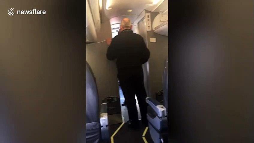 Extra leg room! Student enjoys entire plane to himself during coronavirus pandemic