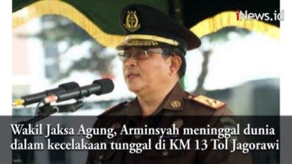 Video Kecelakaan Wakil Jaksa Agung Arminsyah di Tol Jagorawi