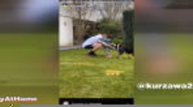 Coronavirus - Kurzawa profite du jardin, Sarabia haltérophile : comment les joueurs du PSG vivent leur confinement...