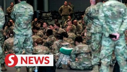 Thousands of military to be sent to US states