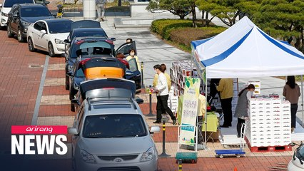 S. Korea's drive-thrus expand to farm produce, fish and library books