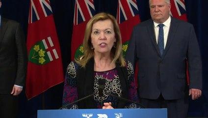 Coronavirus outbreak- Ontario premier calls Trump's 3M order 'unacceptable'