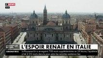 Coronavirus : La pression baisse sur les hôpitaux, l'espoir renaît en Italie