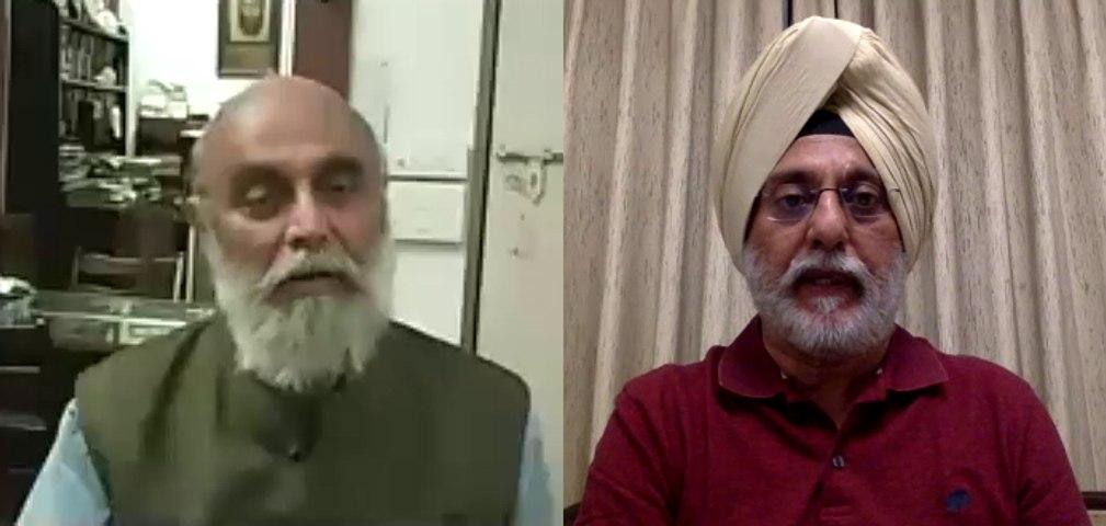 SAM Conversation: C Uday Bhaskar in conversation with  Brig Ramanjit Singh Ahluwalia (retd)