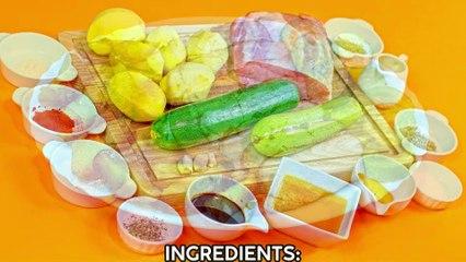 Honey Garlic Glazed Pork Loin Roast UHD 4K