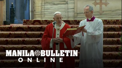 Vatican celebrates Palm Sunday without congregation due to coronavirus