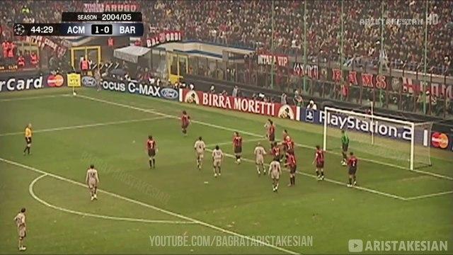 AC Milan 1-0 Barcelona - UCL 2004/05 - Full Highlights - Ukrainian Commentary - FULL HD