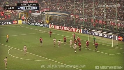 AC Milan 1-0 Barcelona - UCL 2004/05 - Full Highlights - Ukrainian Commentary - FULL HD
