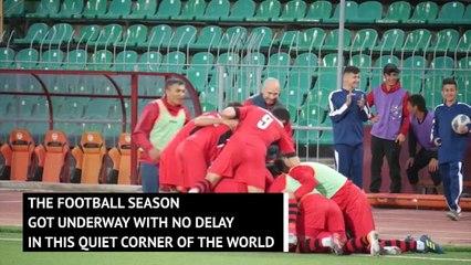 Coronavirus doesn't disrupt Tajikistan Super Cup