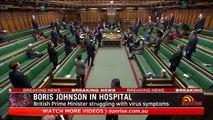 Coronavirus: UK PM Boris Johnson in hospital for tests