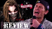 The Fiend Bray Wyatt VS John Cena Wrestlemania 36 Firefly Funhouse Highlights Review